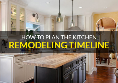kitchen remodeling timeline