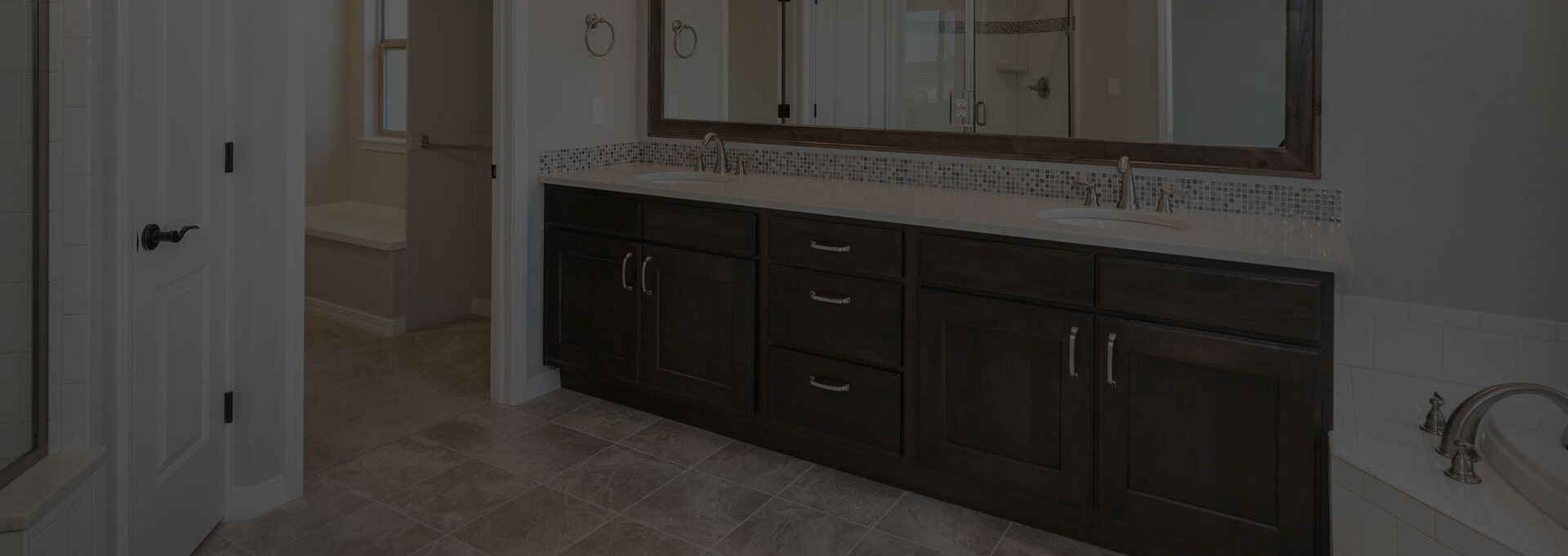 Modern bathroom vanities by CGD