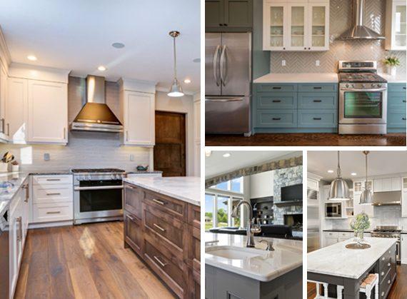 Kitchen renovation types